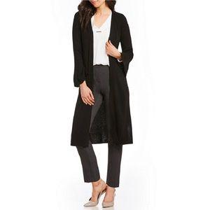 Cabi Duster Cardigan Sweater Black Shawl #610